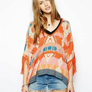 Denim & Supply by Ralph Lauren Poncho Cover Top